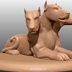 Descargar diseños 3D gratis Cerberus - Miniatura de mesa, M3DM