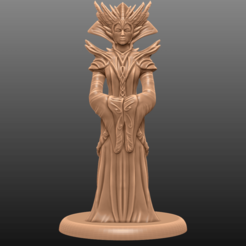 Descargar archivos STL gratis Supportless Head Enchantress - Tabletop Miniatura, M3DM
