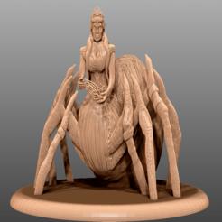 Descargar archivo 3D gratis Lolth - Miniatura de mesa, M3DM