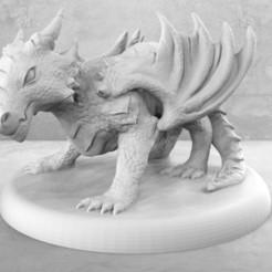Descargar archivos 3D gratis Bebé Dragón Enojado, M3DM