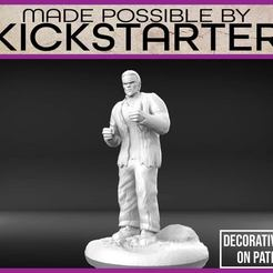Franks_Monster_1-01.jpg Download free STL file Frankenstein's Monster - Tabletop Miniature • 3D printer object, M3DM