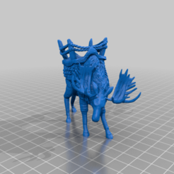 Download free 3D printer templates War Moose - Tabletop Miniature, M3DM