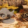Télécharger plan imprimante 3D gatuit Loup - Miniature de table, M3DM
