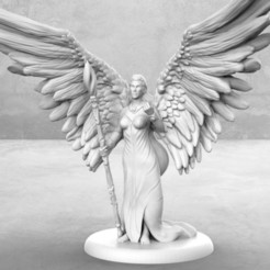 Descargar diseños 3D gratis Angel - Miniatura de mesa, M3DM