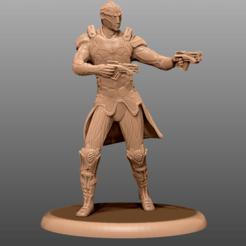 Descargar archivos 3D gratis Drell - Mass Effect Miniatura, M3DM