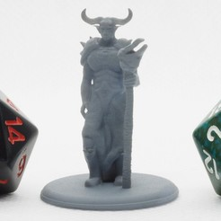 Hades_1.JPG Download free STL file Asmodeus - Tabletop Miniature • 3D printable model, M3DM