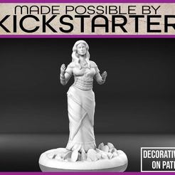 Descargar Modelos 3D para imprimir gratis Adivinadora - Miniatura de mesa, M3DM
