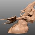 Descargar diseños 3D Ballena del cielo ornamentada - Miniatura de sobremesa, M3DM