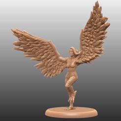 Descargar archivo 3D gratis Harpy Action Pose - Tabletop Miniatura, M3DM