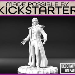Vampire_1-01.jpg Download free STL file Vampire - Tabletop Miniature • Template to 3D print, M3DM