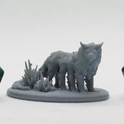 Download STL 8 Legged Beast - Tabletop Miniature, M3DM