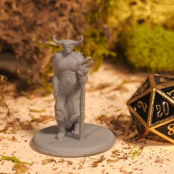 Download free STL Hades - Tabletop Miniature, M3DM