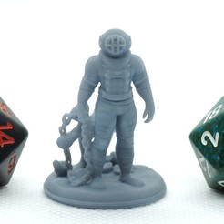 Download free STL file Subnautical - Tabletop Miniature, M3DM