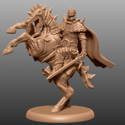 Descargar modelos 3D gratis Haunted Horseman - Tabletop Miniatura, M3DM