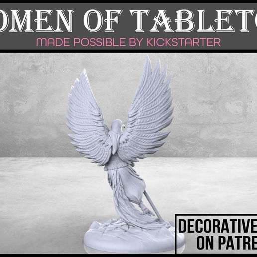 Eaglefolk_Monk_2-01.jpg Télécharger fichier STL gratuit Moine aigle - Miniature de table • Design imprimable en 3D, M3DM