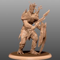 Impresiones 3D gratis Tree Guardian - Miniatura de mesa, M3DM
