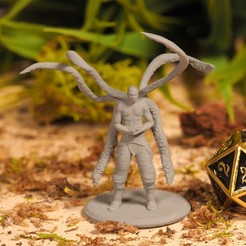 Download free STL Simic Hybrid - Tabletop Miniature, M3DM