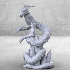 Descargar archivo 3D gratis Dragón Chino - Miniatura de mesa, M3DM