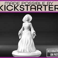 Imprimir en 3D gratis Bloody Mary - Miniatura de mesa, M3DM