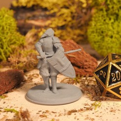 Download free 3D printer model Kenku Armored - Tabletop Miniature, M3DM