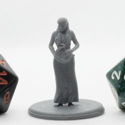 P4260126.jpg Download free STL file Half Elf Bard - Tabletop Miniature • Design to 3D print, M3DM