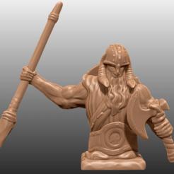 Descargar Modelos 3D para imprimir gratis Estatua Nórdica, M3DM