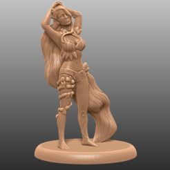 Download free 3D printing designs Forest Nymph - Tabletop Miniature, M3DM