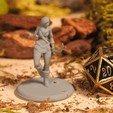 Télécharger fichier imprimante 3D gratuit Elfe des bois - Miniature de table, M3DM