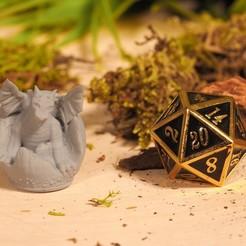 Download free 3D printer files Baby Dragon - Tabletop Miniatures, M3DM