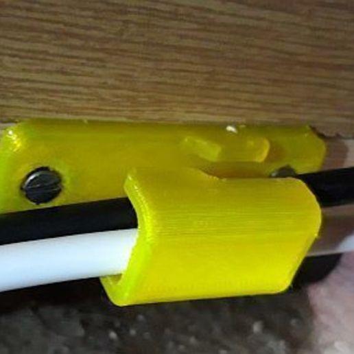 Télécharger fichier STL gratuit Porte-câble • Modèle imprimable en 3D, georgek
