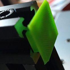 Télécharger fichier STL gratuit Bride aveugle pour extrusion d'aluminium 20x20 • Objet imprimable en 3D, georgek
