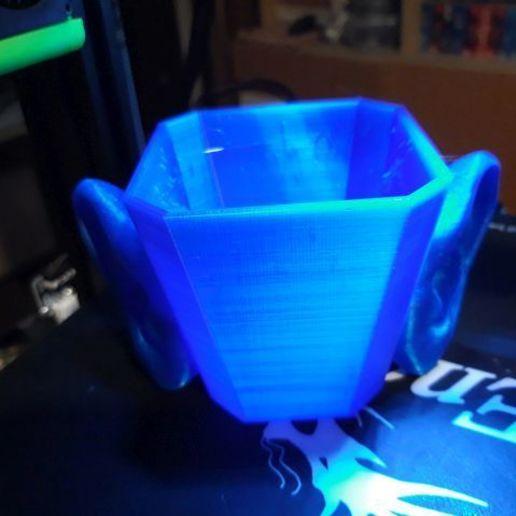 modry-dvojusak.jpg Download free STL file eared cup • 3D printable template, georgek