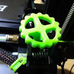 Download free 3D printing models Extruder gear new, georgek