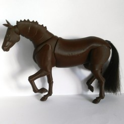 IMG_20200915_171341.jpg Download STL file Horse new BJD • 3D print object, leykinaea