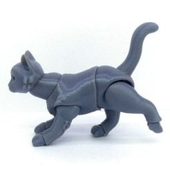 Download STL file Small cat BJD • Design to 3D print, leykinaea