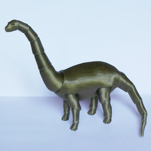 Download 3D printing designs Dinosaur BJD, leykinaea