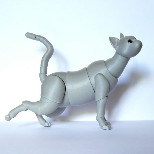 Download 3D printer model Cat BJD, leykinaea