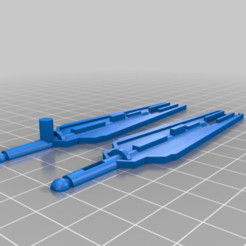 Espadas_Skylunx.png Download free STL file TRANSFORMERS CW SKY LYNX SPARE PARTS (SWORDS AND WING TAIL) • 3D printable design, sacerdotepaladino
