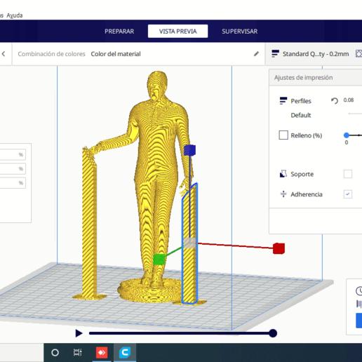 anydesk00003.png Descargar archivo STL Novio para acompañar a tarta de bodas • Diseño imprimible en 3D, javherre