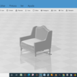 Download free STL file Classic Dining Chair • 3D printable object, javherre