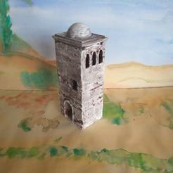 IMG_20200907_175308.jpg Download STL file Rustic house 3d model diorama tower • 3D printer object, javherre