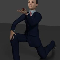 novio anime de rodillas.jpg Télécharger fichier STL Le marié de l'anime accompagne la mariée de l'anime • Design à imprimer en 3D, javherre