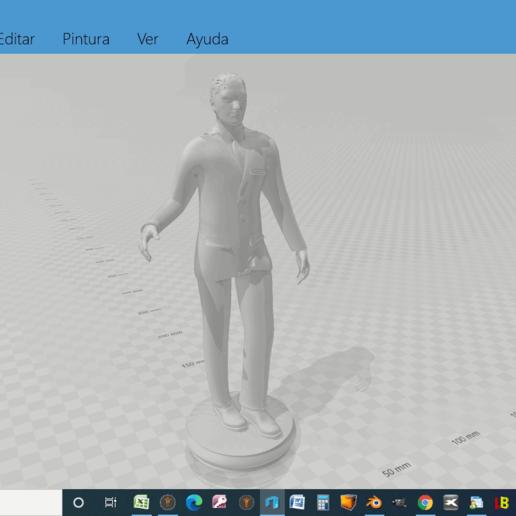 anydesk00004.png Descargar archivo STL Novio para acompañar a tarta de bodas • Diseño imprimible en 3D, javherre