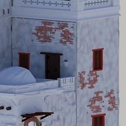Download free STL file 2-storey diorama house - nativity scenes model 3d • 3D printing template, javherre