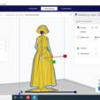 2020-08-27 (3).png Descargar archivo STL Novia Anime para acompañar a tarta de bodas • Modelo imprimible en 3D, javherre