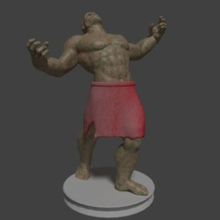ogroman.jpg Download 3DS file Ogre man • 3D print design, javherre