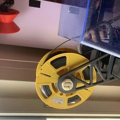 Download free 3D printing templates Filament Spool holder for XIDI X-PRO , Napperd