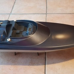 Download 3D printing designs jet boat, offshore boat 800, nikocox1