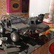 Download 3D print files scale crawler kamaz Mercedes kamaz 1:10 (alien version), nikocox1