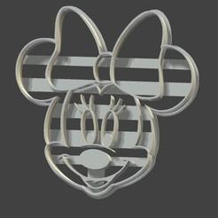 STL files Minnie Mouse Cutter, Wharang